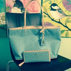 Summer Tote with Matching Wallet