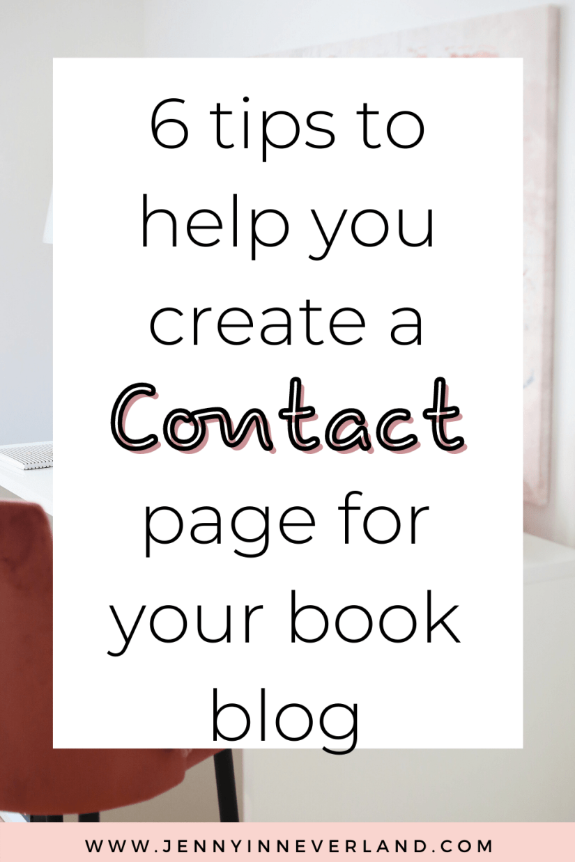 6 Tips To For Your blog Contact Page