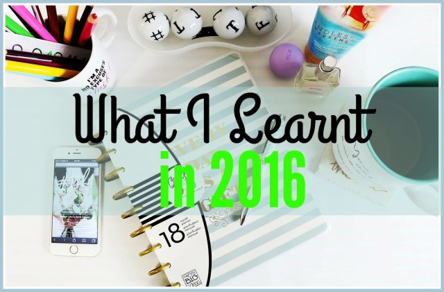 what-i-learnt-in-2016