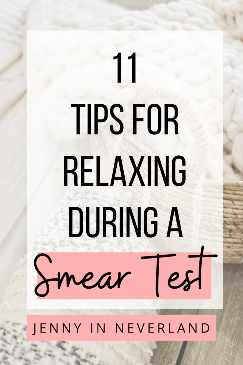 how to relax during a smear test
