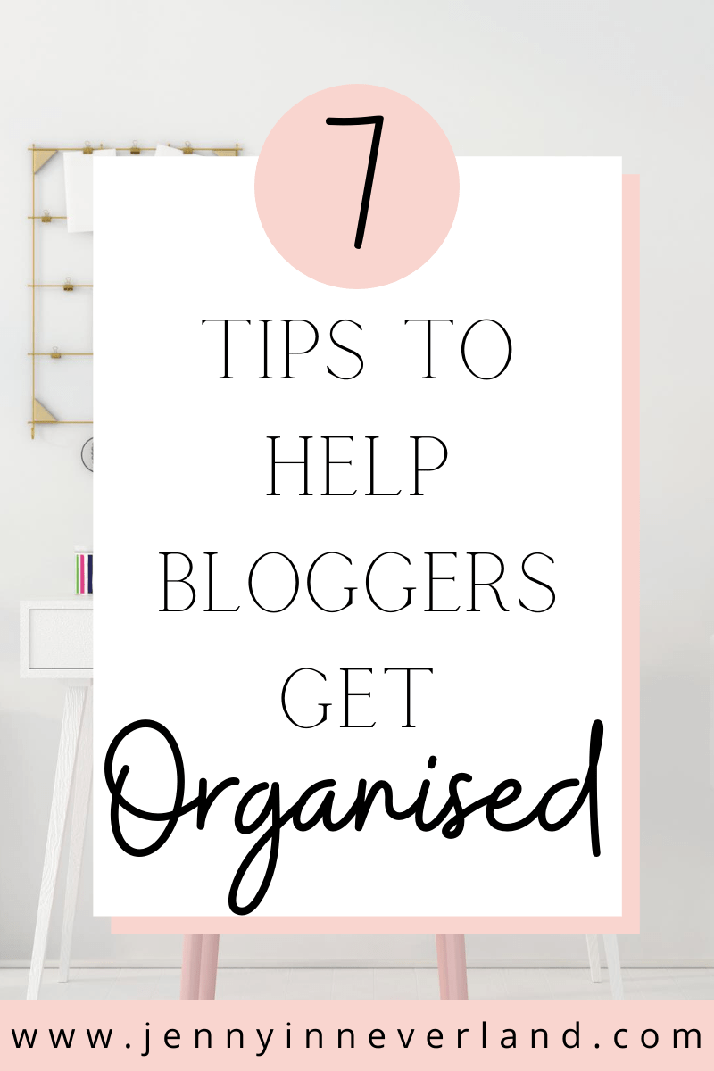 Office Organization Tips For Bloggers
