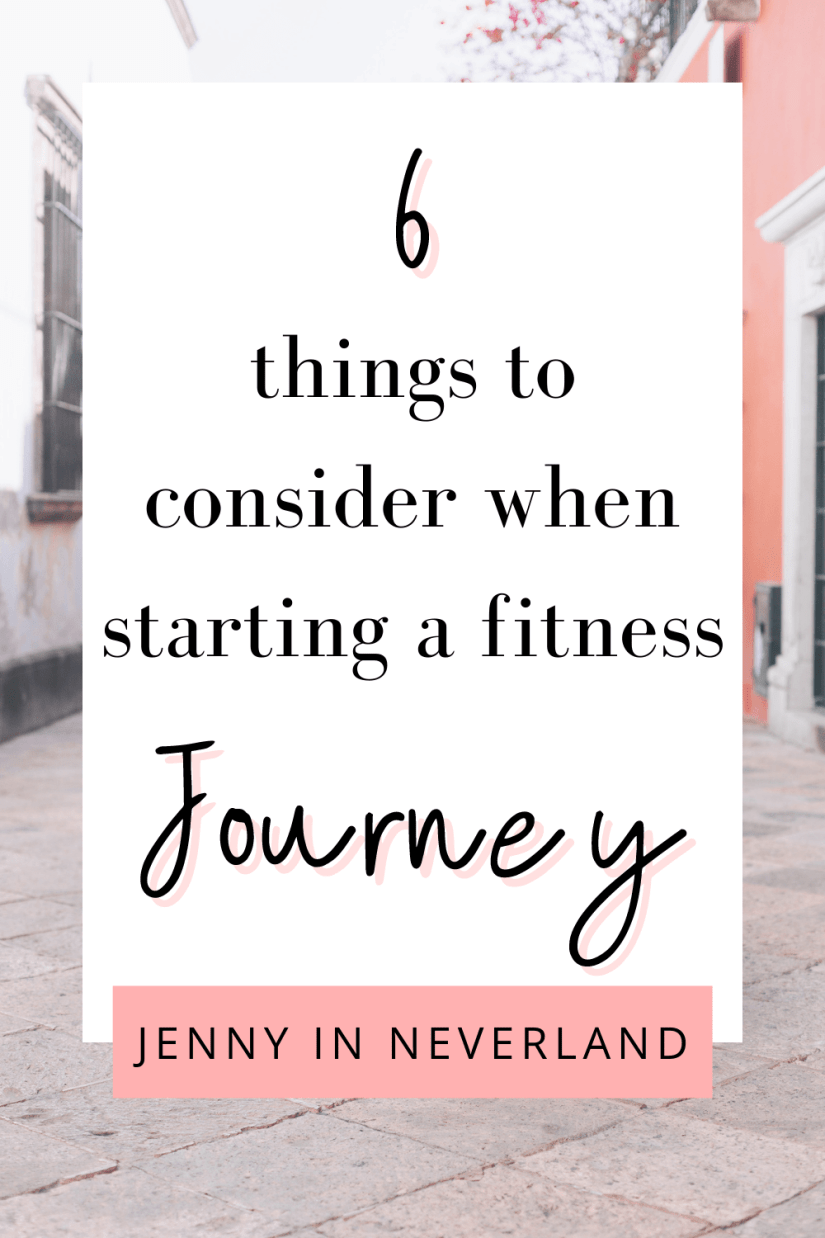 starting a fitness journey