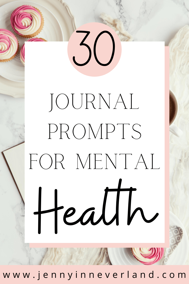 Mental Health Journal Prompts