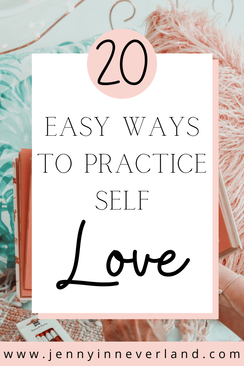 Easy ways to practice self love