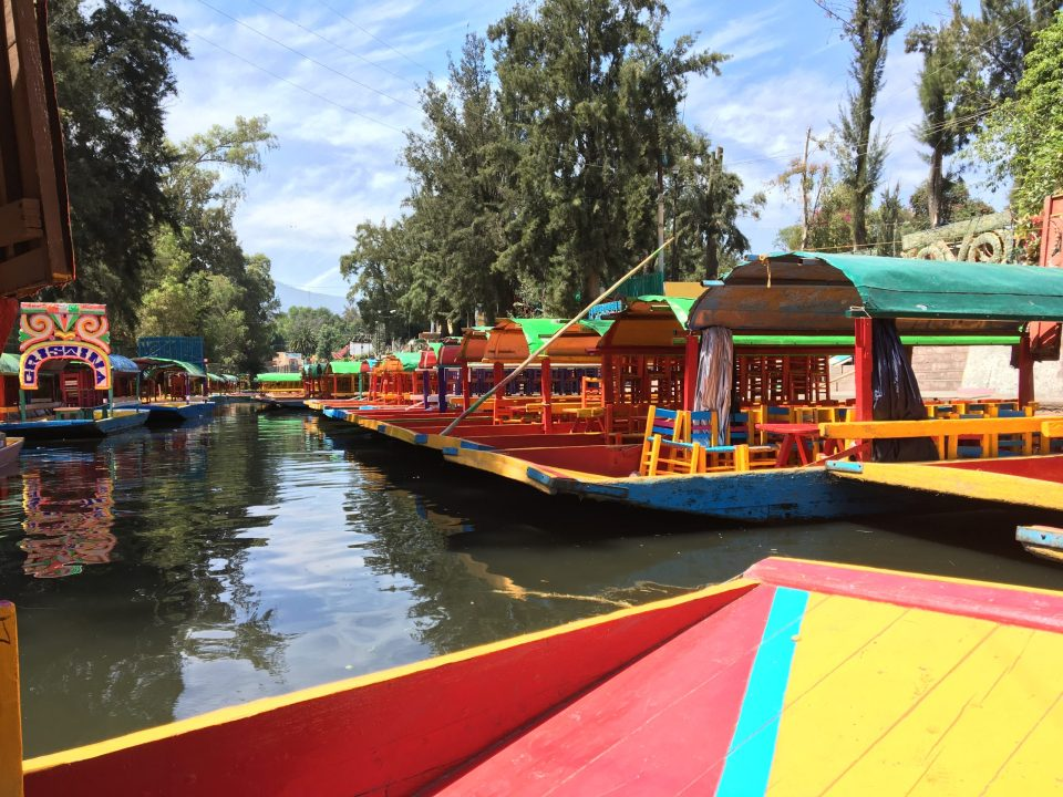 Transportation and Getting around Mexico by Lancha
