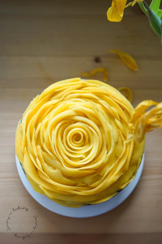 Vegane Mango-Schoko-Torte
