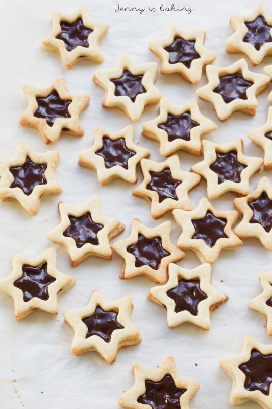 Chocolate Star Cookie