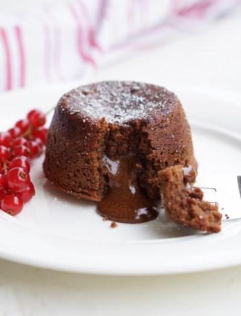 Schokoladenküchlein mit flüssigem Kern