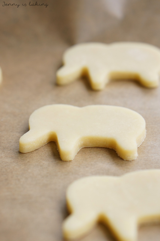 how to make elephant sugar cookies