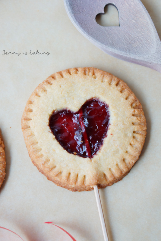 Valentine Cherry Hand Pie