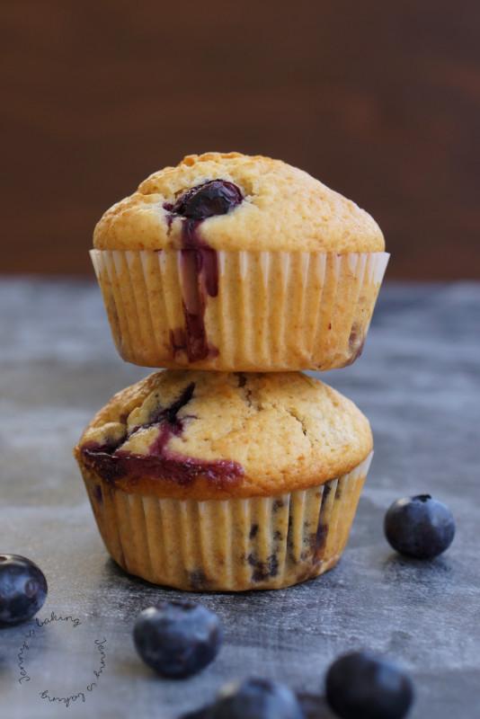 Heidelbeer-Muffins