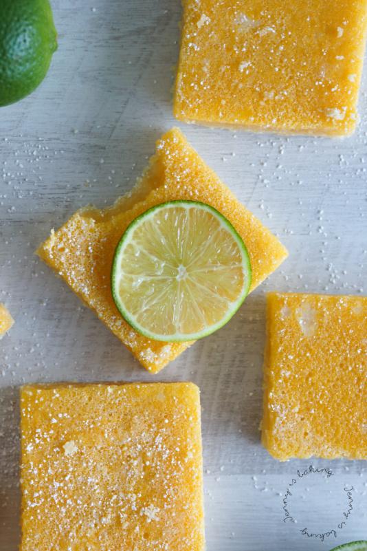 Erfrischende Limetten-Schnittchen