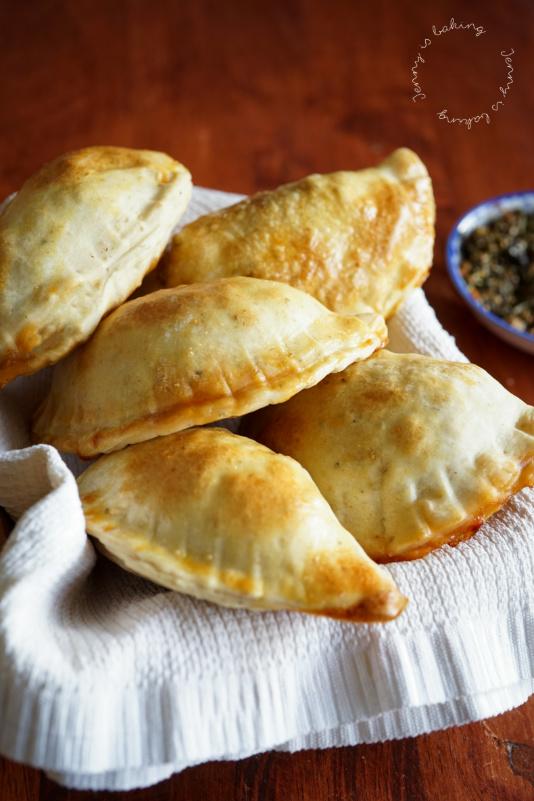 Traditionelle uruguayische Empanadas