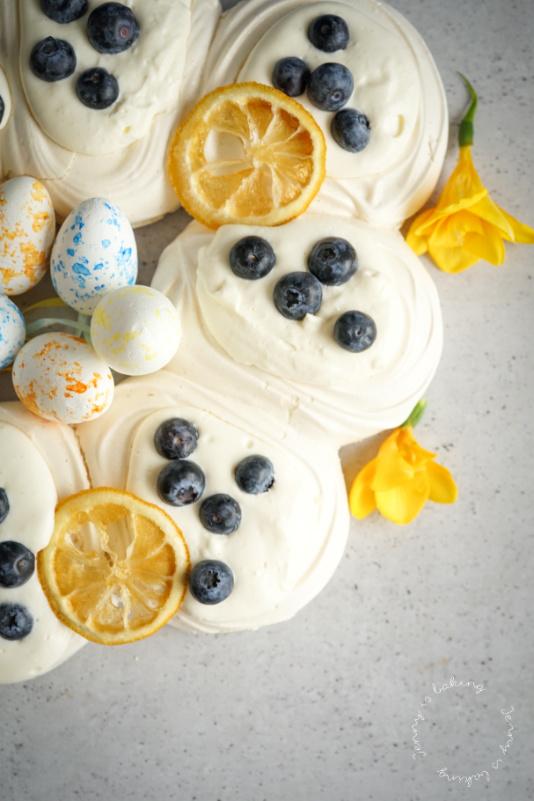 Vegane Baisernester zu Ostern