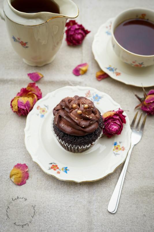 Schoko-Cupcake vom Café Wir machen Cupcakes in München
