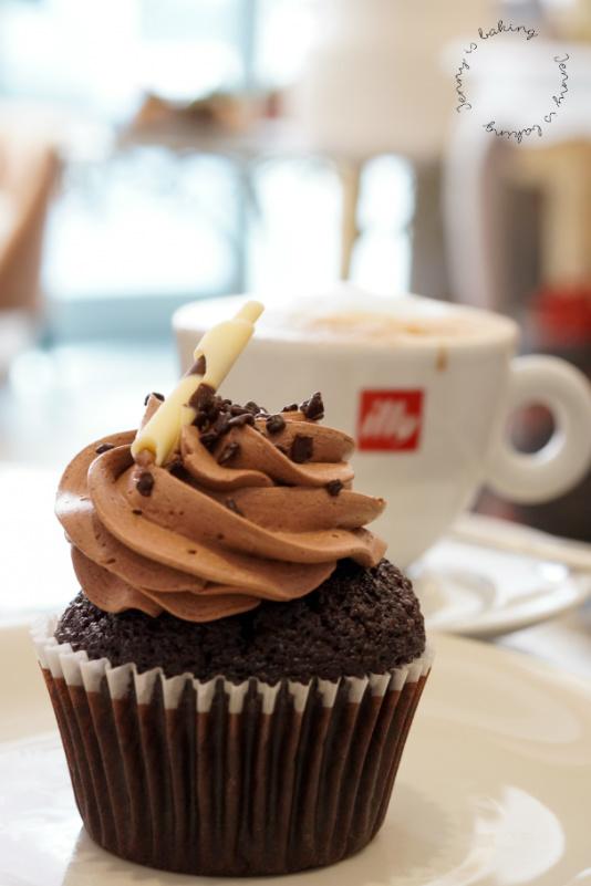 """Schoko-Cupcakes vom Café """"Wir machen Cupcakes"""" in München"""