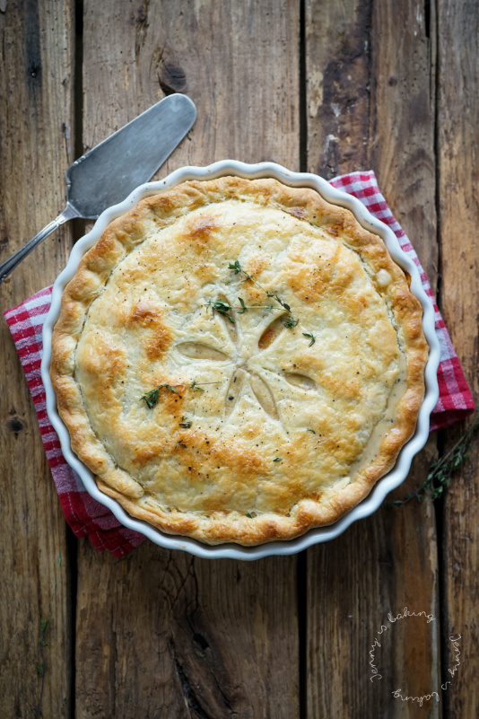Amerikanischer Chicken-Pot-Pie