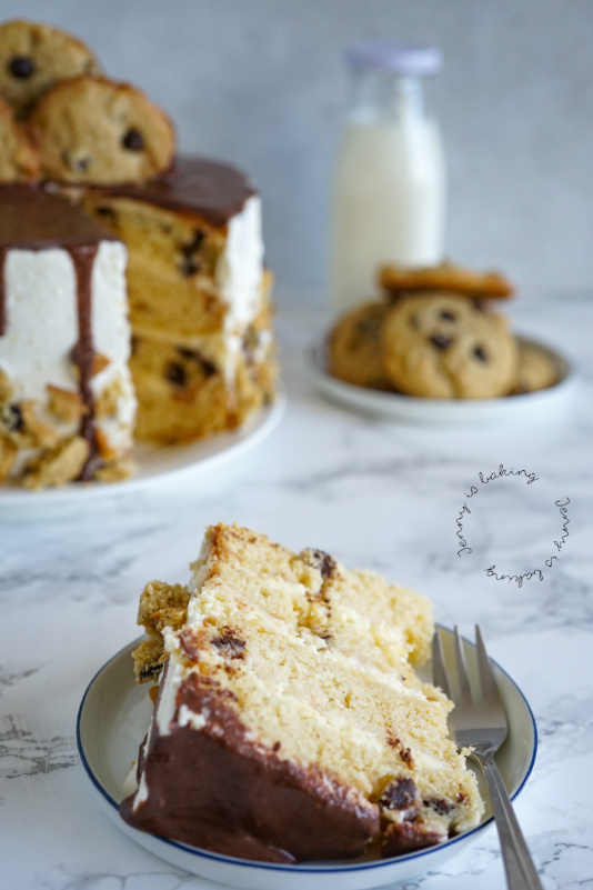 Chocolate-Chip-Torte