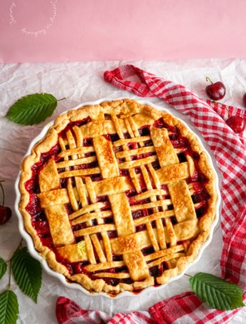 Amerikanischer Cherry-Pie