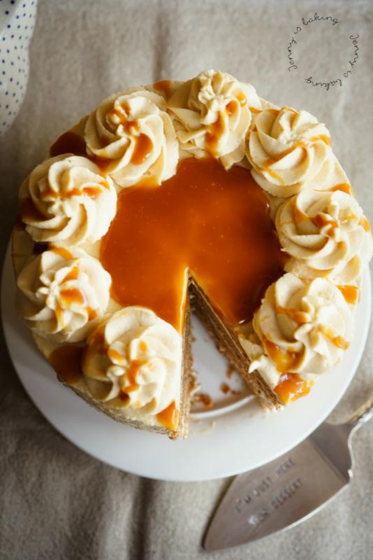 Schoko-Karamell-Torte