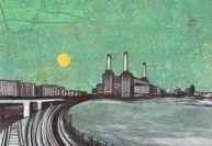 battersea powerstation painting