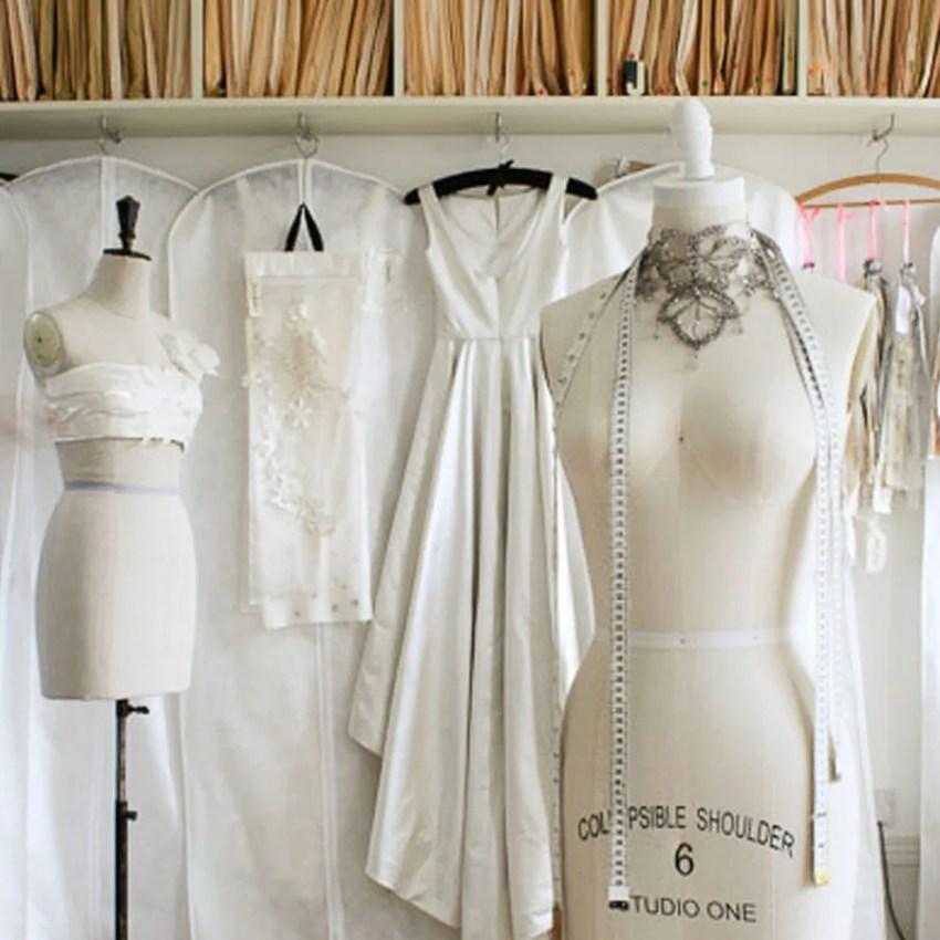 Design process for a handmade wedding dress | Jenny Lessin