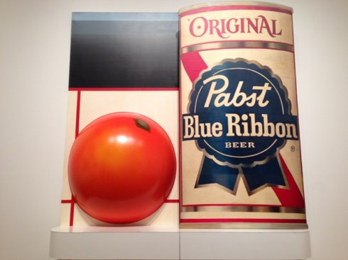 PBR and an orange.