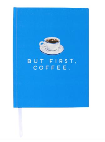 but first coffee journal notebook design darling