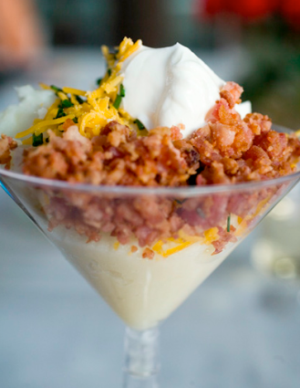 Mashed Potato Martini