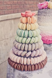 Ombre Cake Tower