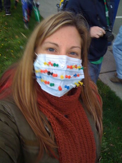 swine flu mask
