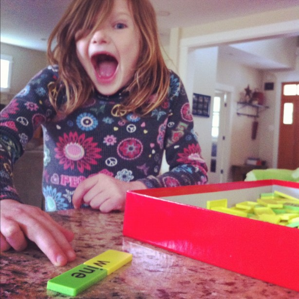 kid spells win