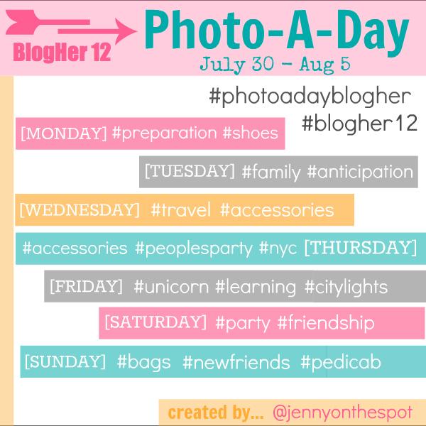 BlogHer12 photoaday by jennyonthespot