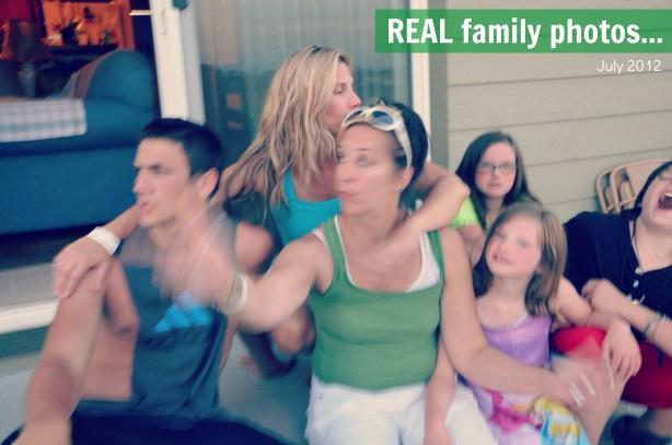 real family photo