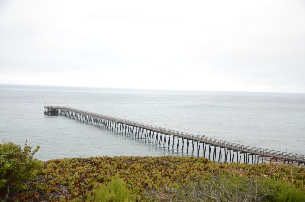 A pier in Santa Barbara