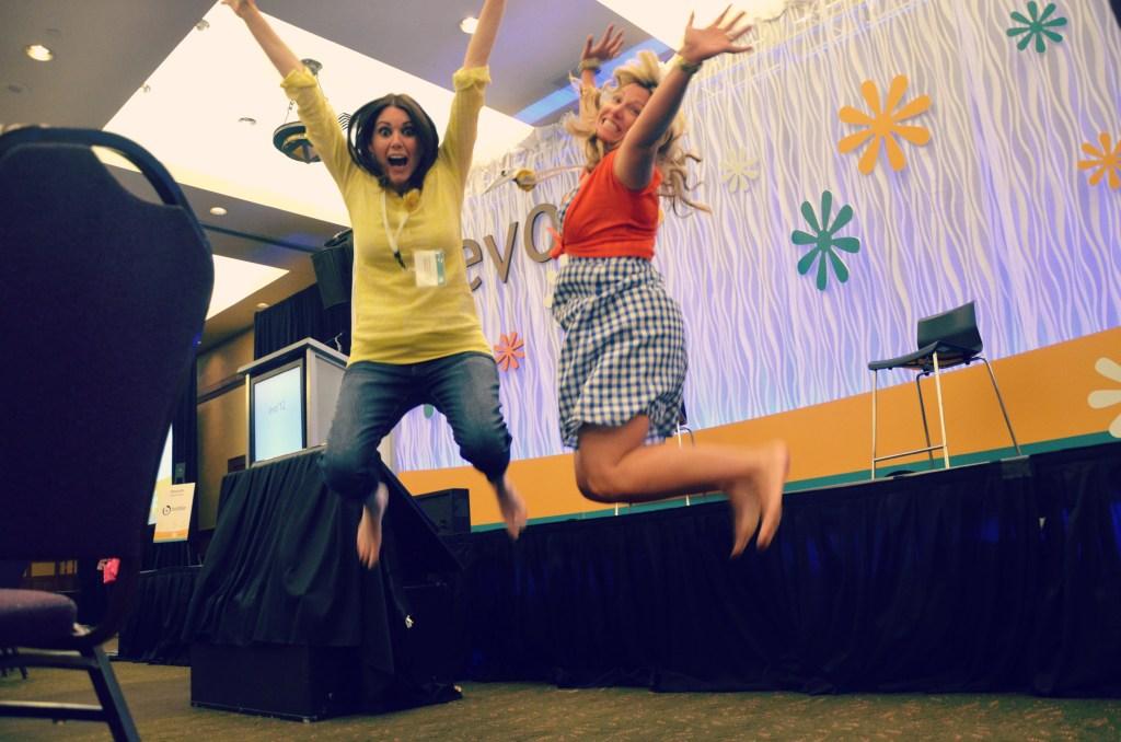 Evo jump with Jyl! via @jennyonthespot