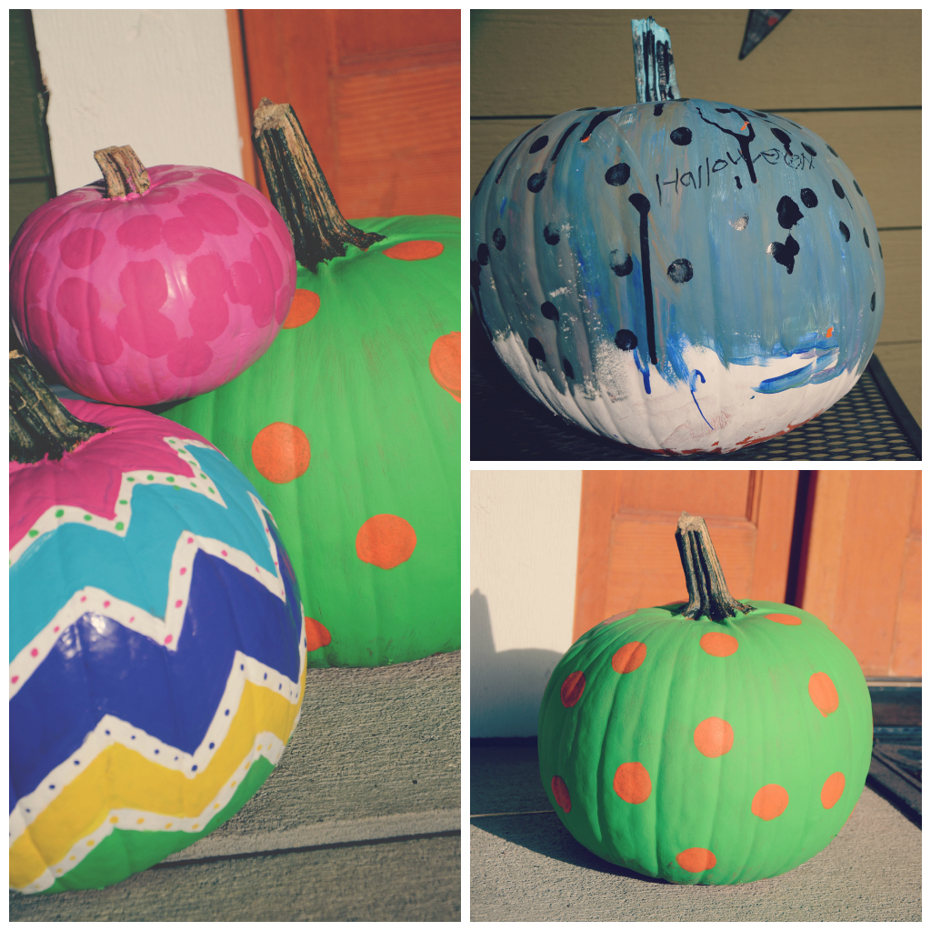 Painted pumpkins via @jennyonthespot | jennyonthespot.com