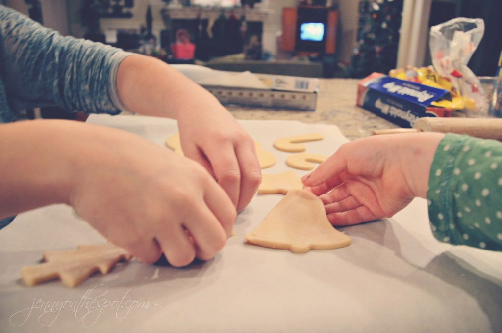 sugar cookies via @jennyonthespot