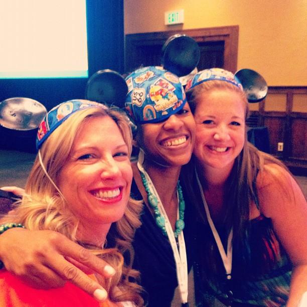 Moi, Lucrecer, and Rachel via @jennyonthespot