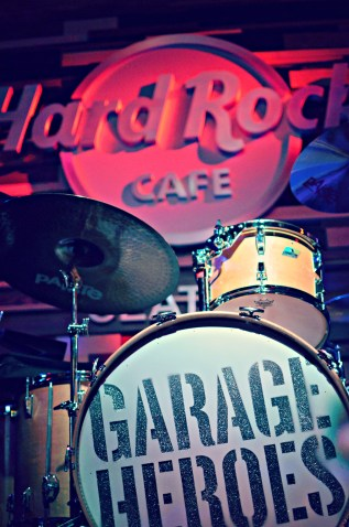 Garage Heroes at Hard Rock Cafe in Seattle