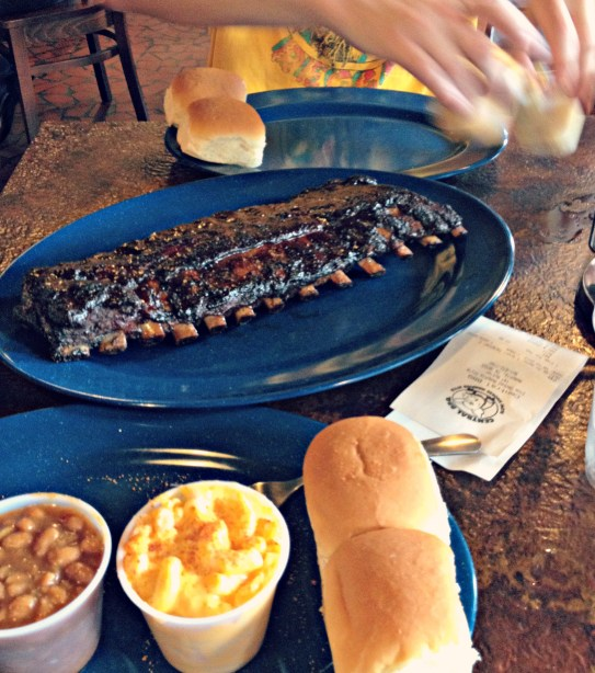 Memphis barbecue ribs