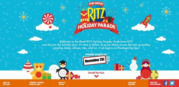 The Great Ritz Holiday Parade