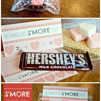 S'more Classroom Valentines, Please. (Free Valentine Printable!)
