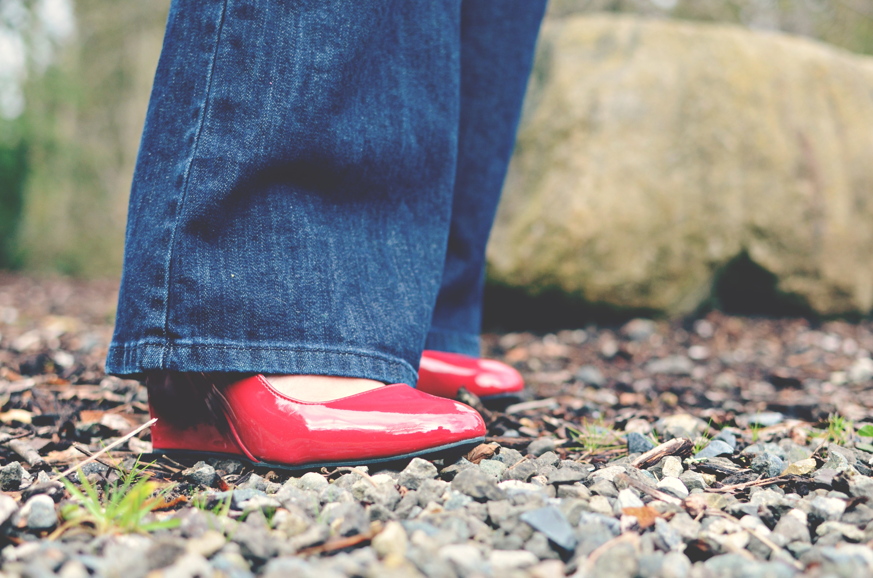 4d9f54408 ... patent leather red wedges at home and knew they would go perfectly.  That is why this is a spruce-up post