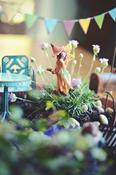 DIY: How To Make A Fairy Garden