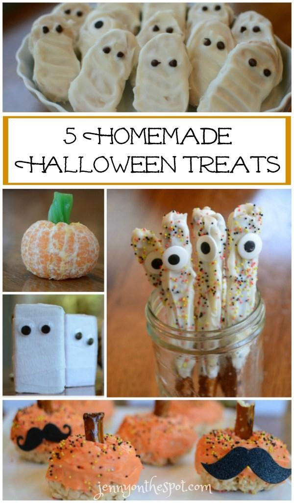5 Homemade Halloween Treats