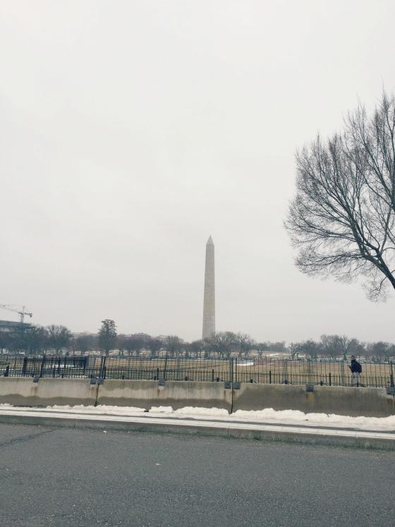 Washington National Monument in Washington DC