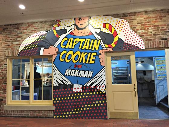 Captain Cookie in Washington DC