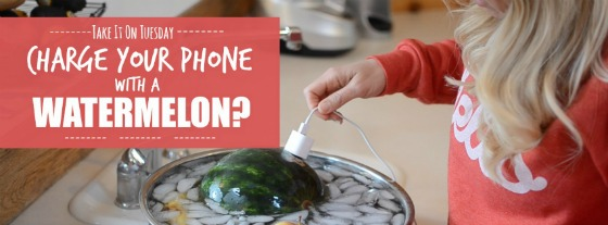 Take It On Tuesday: Watermelon As Phone Charger?