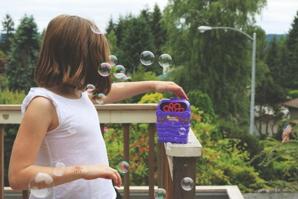 bubble machine from Rite Aid